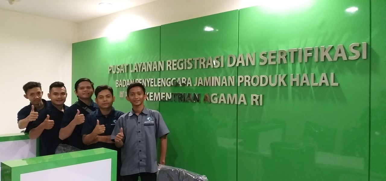 Project Jasa Pindahan Kantor Badan Penyelenggara Jaminan Produk Halal